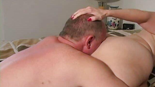 भावुक, लाल बालों वाली, श्यामला, में, चरित्र बन्धन सेक्सी हिंदी मूवी में और घूर्णन, farting